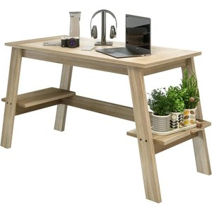 Teknik Baylor Trestle Desk - Sonoma Oak  10219805