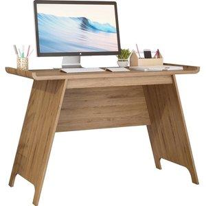 Teknik Towson 7700001 Trestle Desk - Beaufort Oak  10219802