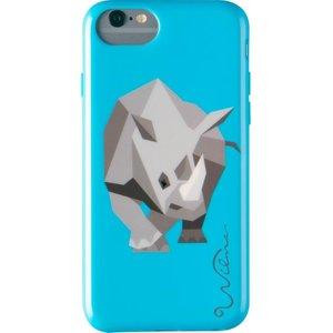 Wilma Electric Savanna Rhino Iphone 6 / 6s / 7 / 8 / Se Case - Blue, Blue, Blue