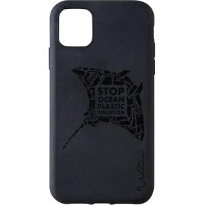 Wilma Stop Ocean Plastic Pollution Manta Iphone 11 Pro Case - Black, Black 10217271, Black