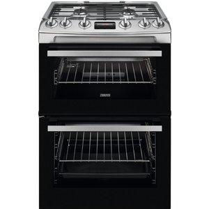 Zanussi Zcg63260xe 60 Cm Gas Cooker - Stainless Steel, Stainless Steel, Stainless Steel