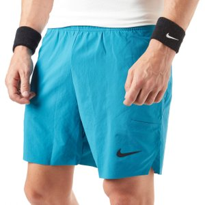 "Mens Blue Nike Flex Ace 7"" Court Shorts, Blue"