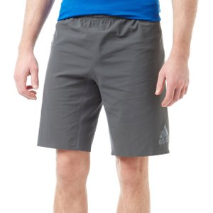 "Mens Grey Adidas 4krft 360 Strong Cordura 10"" Training Shorts, Grey"