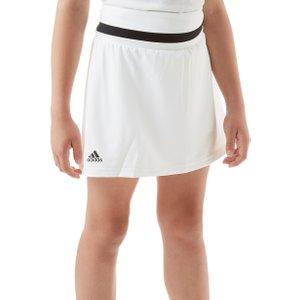White Adidas Club Junior Tennis Skirt, White