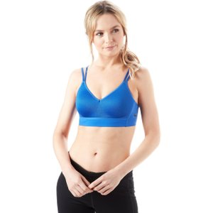 Womens Blue Nike Indy Breathe Sports Bra, Blue