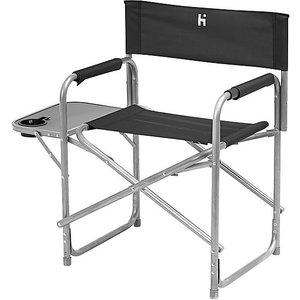 Hi-gear Haddon Directors Chair, Blk/blk 5054306357820 Outdoor Adventure, BLK/BLK