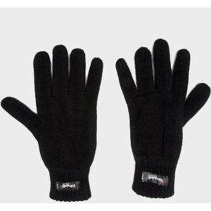 Peter Storm Unisex Thinsulate Knit Fleece Gloves, Black/black 5054330213888 Christmas Gifts, Black/Black