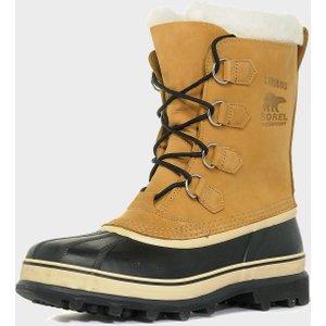 Sorel Caribou Waterproof Snow Boots, Beige 0803298141499 Mens Footwear, Beige