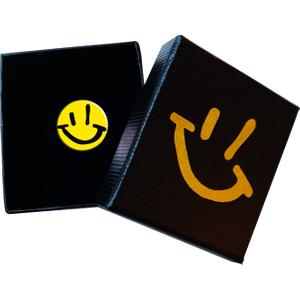 Gp Smiley Enamel Badge  Townsend Music 74248