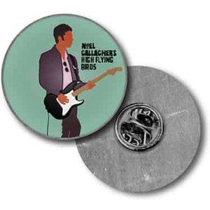 Noel Guitar Enamel Pin Badge  Townsend Music 44559