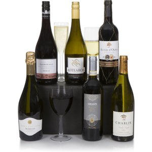 Connoisseur Six Bottle Wine Selection Clearwater Hampers 118