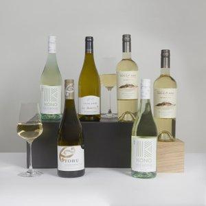 Luxury Weekend White Wine Case Clearwater Hampers 625