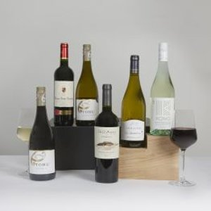 Luxury Weekend Wine Case Clearwater Hampers 6213