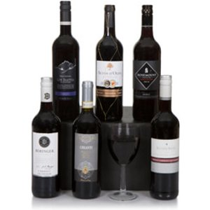 Six Bottle Red Wine Selection Clearwater Hampers 3972