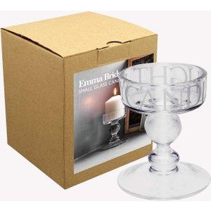 Black Toast Small Glass Candle Holder Emma Bridgewater 1ect020105 Decorations