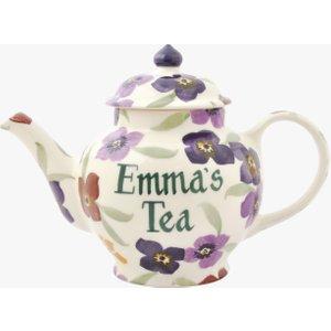Personalised Wallflower 2 Mug Teapot Emma Bridgewater 3wal010100text36 Crockery
