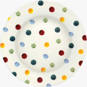 Polka Dot Melamine Dinner Plate 1POD020493 Crockery