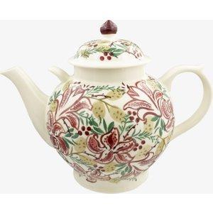 Seconds Red Stargazer Lily Gallon Teapot Emma Bridgewater 2rsg010105 Crockery