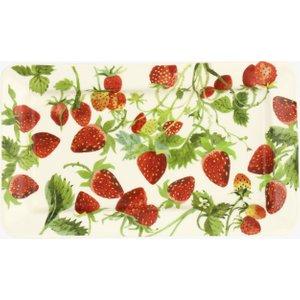Vegetable Garden Strawberries Medium Oblong Plate Emma Bridgewater 1srw011842 Crockery