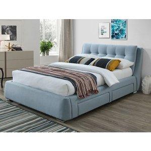 Artisan 3090 4 Drawer Fabric Bedframe,blue Beds