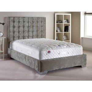 Aspire Furniture Copella 4ft 6 Double Fabric Bedframe,velvet Fabric