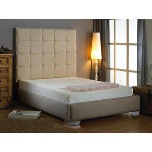Aspire Furniture Mento Fabric Bedframe Beds