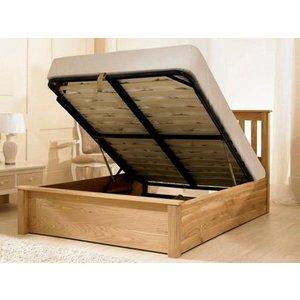 Emporia Beds Monaco 5ft Kingsize Wooden Ottoman Bed