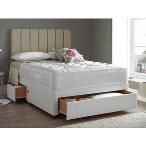 Giltedge Beds Deluxe Orthocare 4ft Small Double Divan Bed