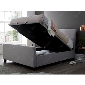 Kaydian Design Allendale 5ft Kingsize Ottoman Bed,marbella Stone Mattresses