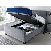 Kaydian Design Allendale Ottoman Bed,velvet Plume Mattresses