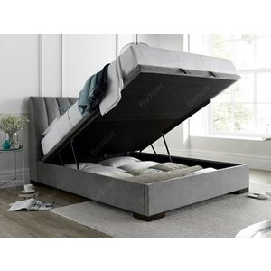 Kaydian Design Lanchester 5ft Kingsize Ottoman Bed,plume Beds