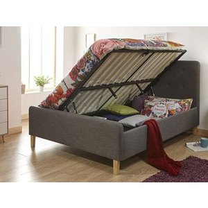 Milan Bed Company Ashbourne 4ft 6 Double Ottoman Bed Furniture