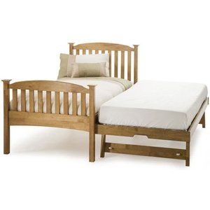 Serene Eleanor High 3-in-1 Wooden Guest Bed,oak Beds