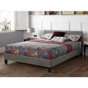 Serene Evelyn 4ft Small Double Fabric Bedframe Mattresses