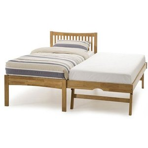 Serene Mya 3-in-1 Wooden Guest Bed,oak Beds