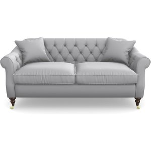 Abbotsbury 3 Seater Sofa In Clever Glossy Velvet- Fifty Shades Sofas