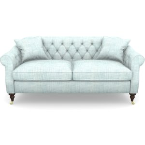 Abbotsbury 3 Seater Sofa In Textured Plain- Wave Sofas
