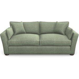 Aldeburgh 3 Seater Sofa In Textured Velvet- Seagrass Sofas