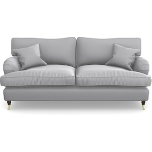 Alwinton 3 Seater Sofa In Clever Glossy Velvet- Fifty Shades Sofas