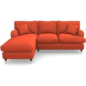 Alwinton Chaise Sofa Rhf In House Velvet- Terracotta Sofas