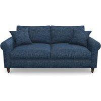 Apuldram 3 Seater Sofa In Textured Velvet- Denim Sofas