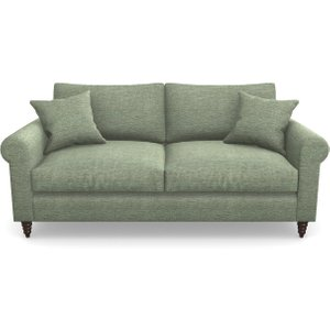 Apuldram 3 Seater Sofa In Textured Velvet- Seagrass Sofas