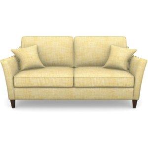 Ashdown 3 Seater Sofa In Textured Plain- Corn Sofas