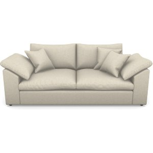 Big Softie Sloped Arm Sloped Arm 3 Seater Sofa In House Linen 2- Natural Sofas