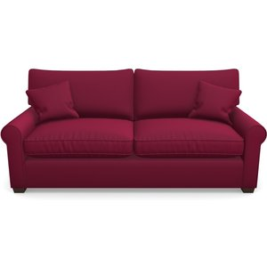 Bignor 3 Seater Sofa In Clever Glossy Velvet- Chianti Sofas