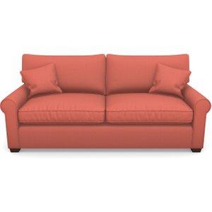 Bignor 3 Seater Sofa In Plain Linen Cotton- Tequila Sunset Sofas