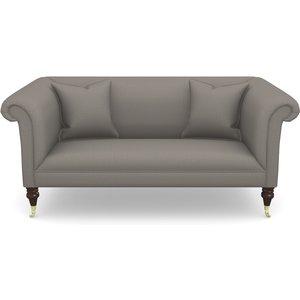 Brighton 2.5 Seater Sofa In Plain Linen Cotton- Purple Haze Sofas
