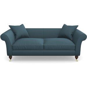 Clavering 3 Seater Sofa In House Velvet- Petrol Sofas
