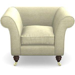 Clavering Chair In Textured Velvet- Almond Sofas