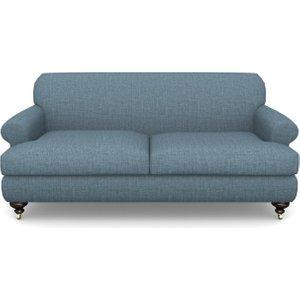 Hampton 3 Seater Sofa In House Plain- Cobalt Sofas